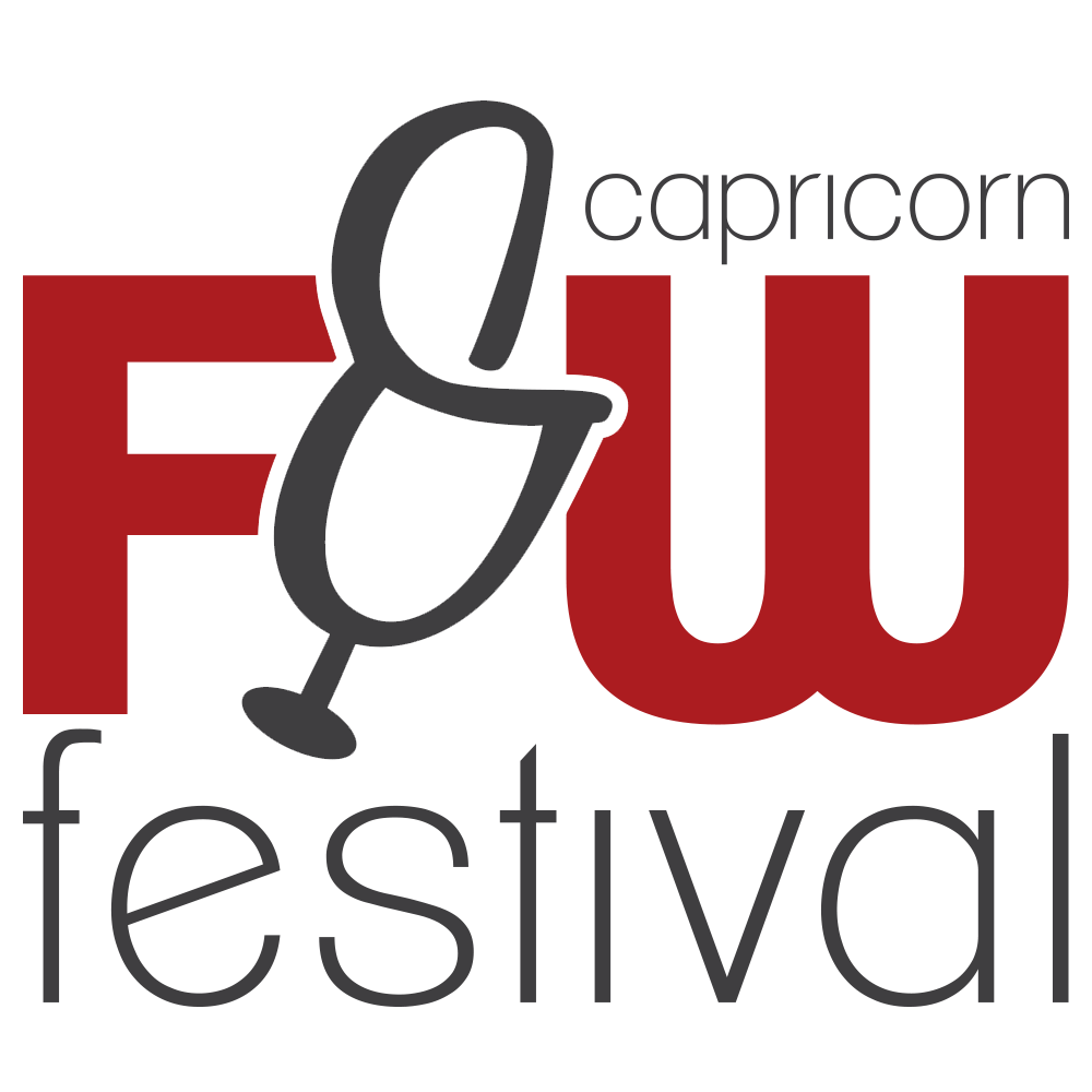 The Capricorn Food & Wine Fesitval 2018 logo